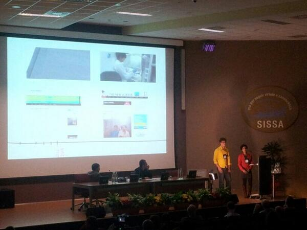 """Proteinaceous Infectious Optimism."" We present our story at Prion2014. Photo by Ekaterina Kochegurova."